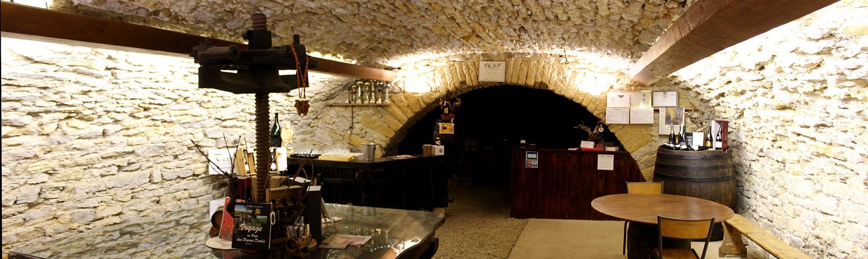 panorama caveau - Vignoble PERRAS