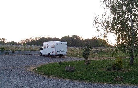 camping car - Vignoble PERRAS