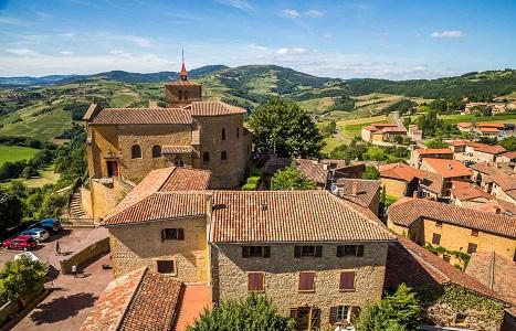 Oingt : Plus beaux Villages de France